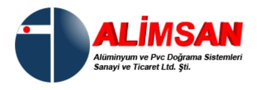 ALİMSAN ALÜMİNYUM DOĞRAMA SAN. TİC. LTD. ŞTİ.